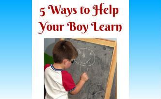 Boys Learning 5 ways to help boys learn