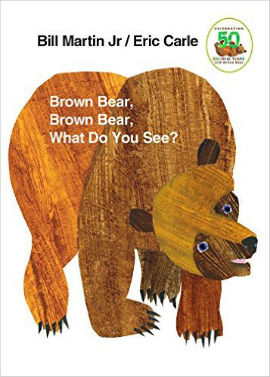 Brown Bear, Brown Bear What do You See is a wonderful book to help boys read by introducting pattern.