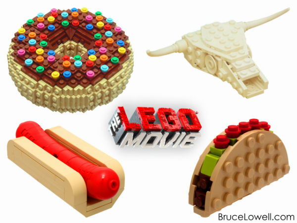 Bruce Lowell pieces from the LEGO movie + Interview | BrainPowerBoy