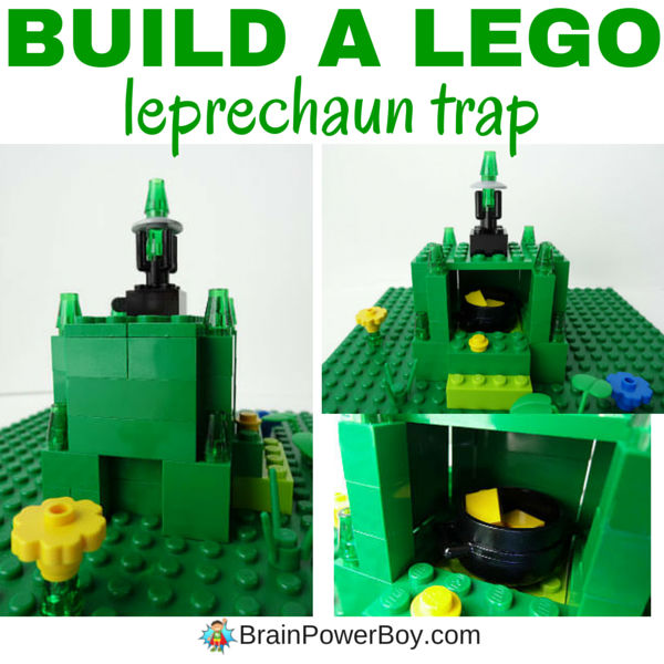 Do you want to catch a leprechaun? LEGO traps work the best! Get all the details on building a LEGO leprechaun trap plus tips for catching a leprechaun by clicking on the image.
