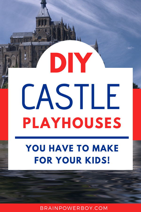 Cardboard box playhouse castles that you simply must see (and make!!)