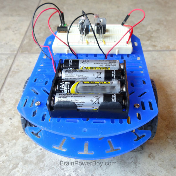 Complete light tracking robot! So. Much. Fun. (ad with Home Science Tools)