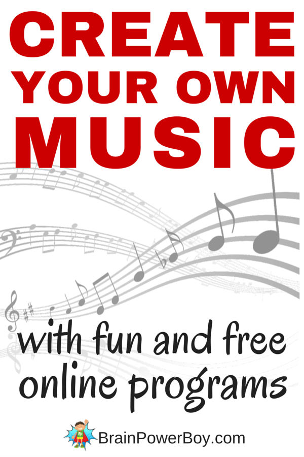 Get creative with music. Make your own music compositions for free with online resources. BONUS: List of musical stories to share with kids.