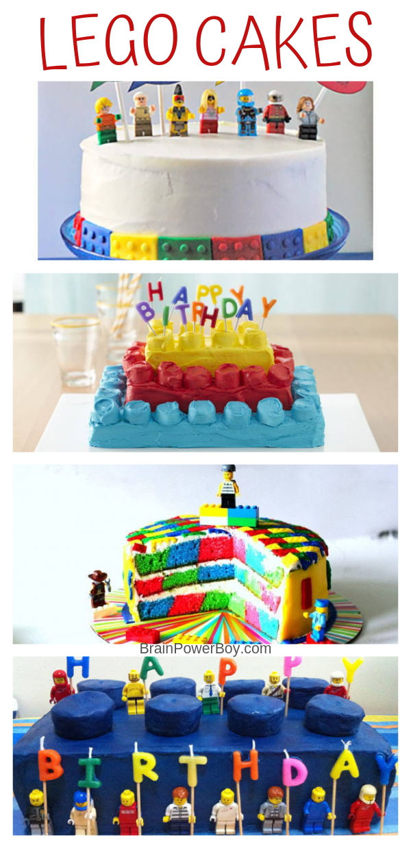 Easy LEGO Cakes You Can Make (With Recipes and Instructions!)