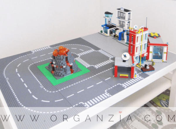 DIY LEGO Table with Road