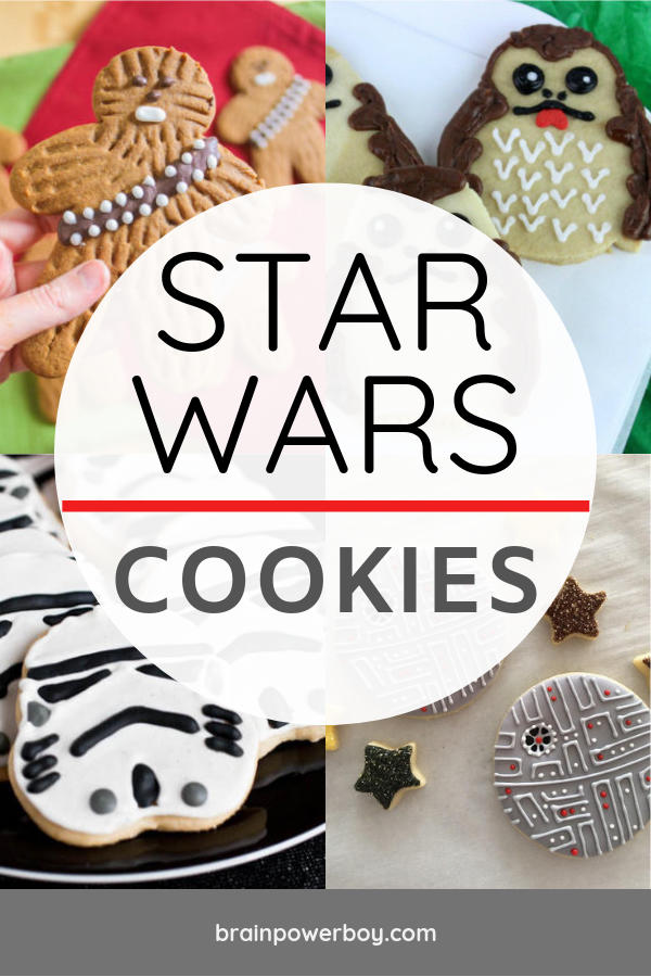 DIY Star Wars Cookies that you can actually make! We found easy to make cookies that look fabulous. Great for Star Wars birthday parties or May the 4th be with you day!
