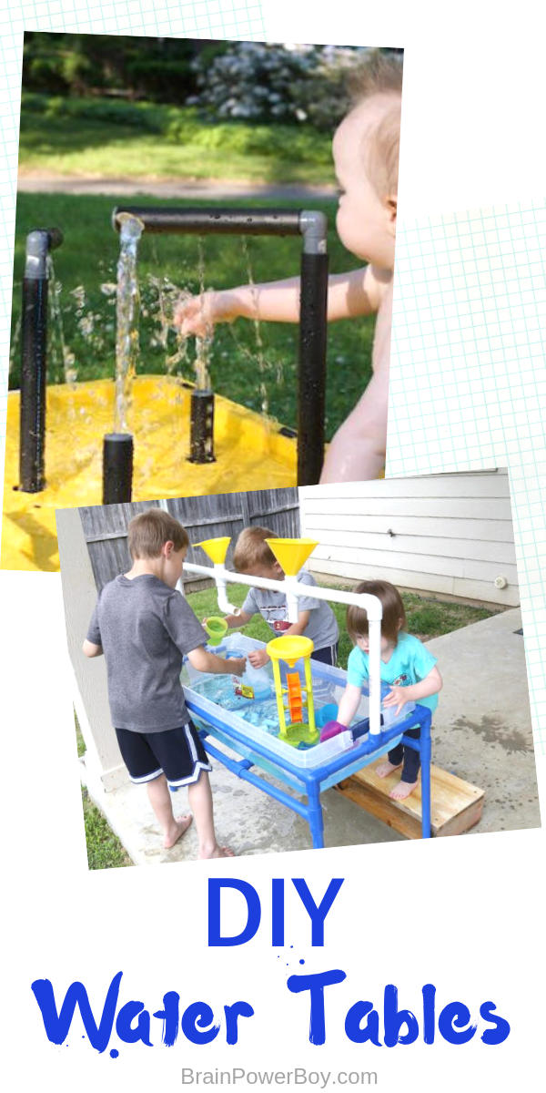 Do not miss these water tables that will turn your backyard into a fun, cool place to enjoy!