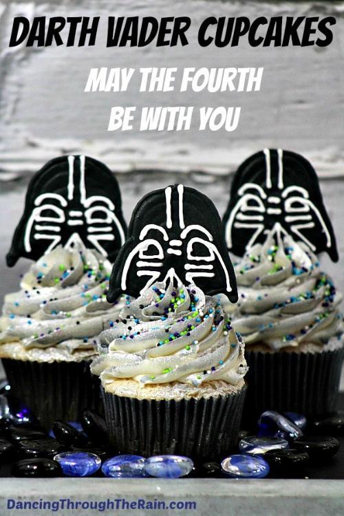 Star Wars Dark Side Darth Vader Cupcakes