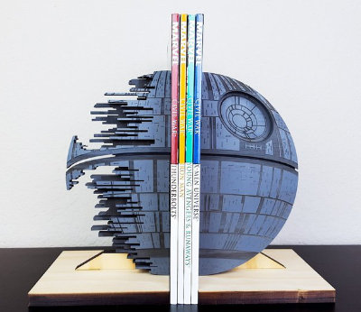Death Star Book Ends