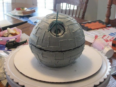 Simple Star Wars Death Star Cake