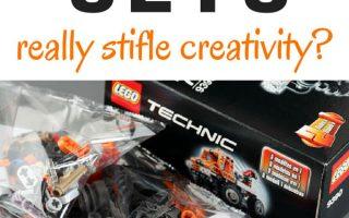 Do LEGO Sets Stifle Creativity?