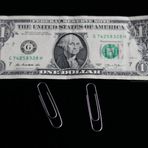 Linking Paper Clips Magic Trick