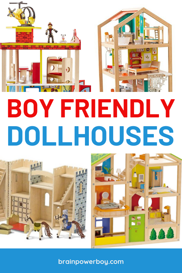 Boy friendly dollhouses that they will simply love. We pulled together a comprehensive buying guide and the very best dollhouses for boys. Click or tap to see it all.