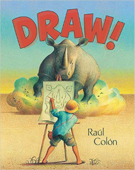 Draw is packed with imagination and boys will really take to this title.