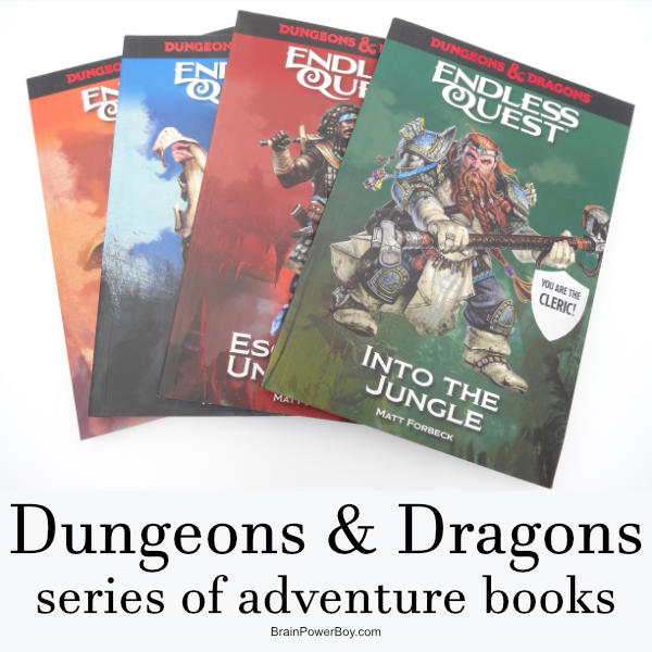 New Dungeons & Dragons Fantasy series to read! They are like a choose your own adventure book D&D style.