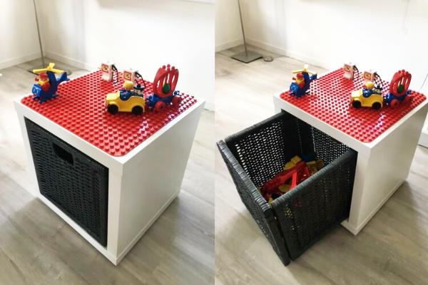 Duplo Storage Play Table