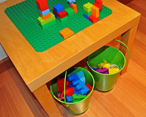 Duplo Table with Storage