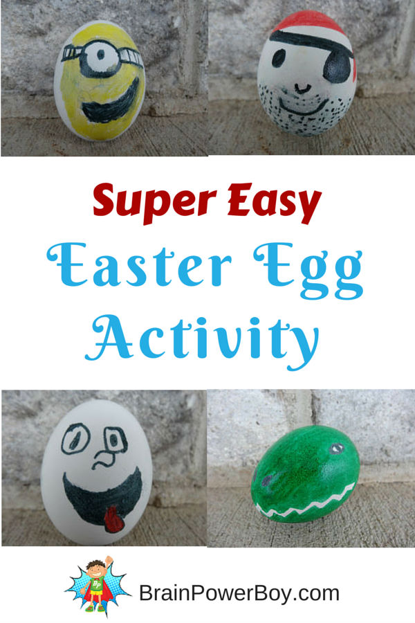 Easter Egg Drawing Challenge. A fun and easy Easter Egg decorating activity. Tips included!