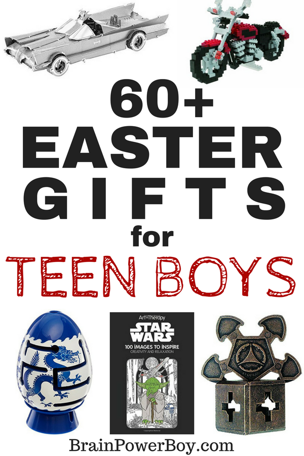 The Best - The Perfect - The Most Wanted - Easter Gifts for Teen Boys! 60 plus unique ideas that teen boys are going to love to find in their Easter baskets. Click to get them now.