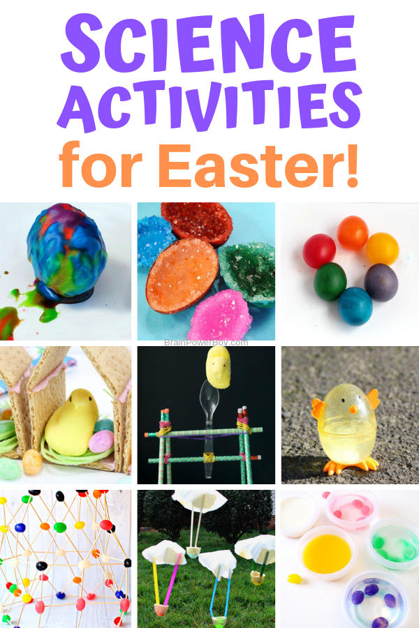 These fun Easter Science and STEM activities are awesome! Kids LOVE them!!
