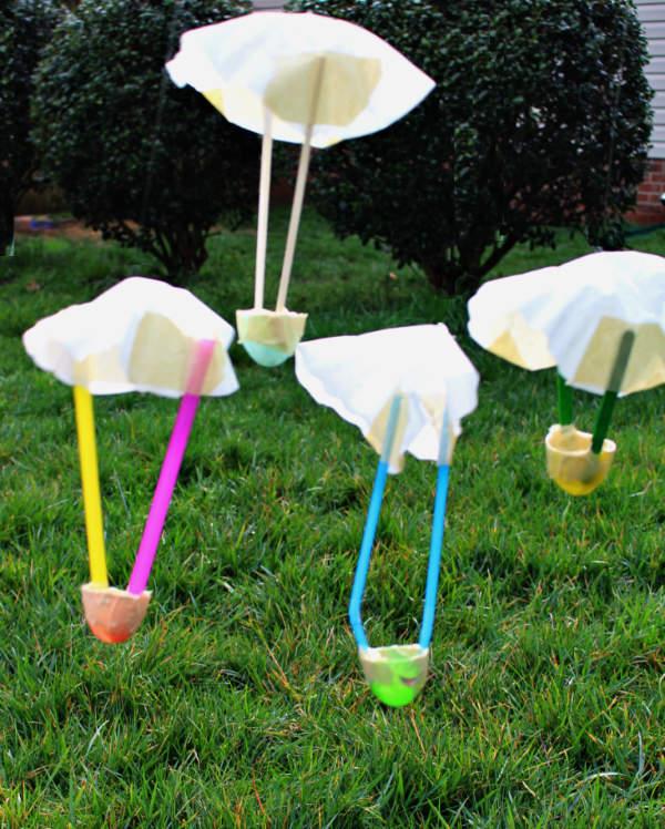Egg Parachutes