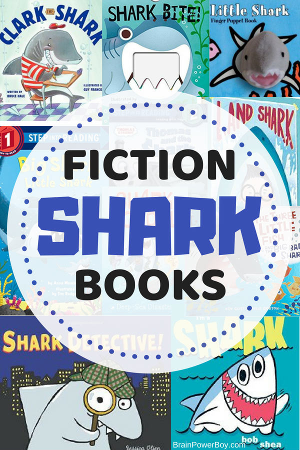 Have a young shark fan on your hands? You have to see these fiction shark books! 10+ titles to choose from. Recently updated!