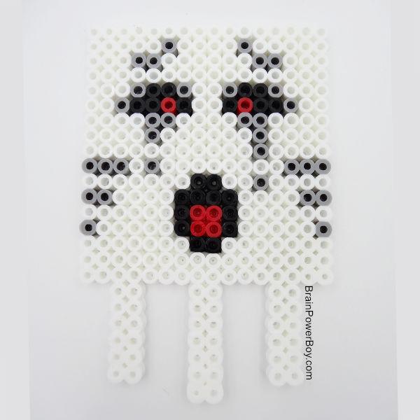 Minecraft Perler Bead Pattern Ghast