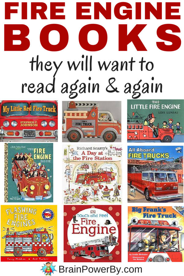 The very best fire engine books that your child will want to read again and again. Includes toy books, board books and picture books. Get them learning about fire engines.