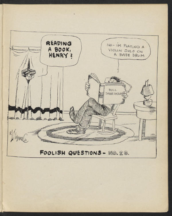 Foolish Questions 26 Image Harvard Library 1909