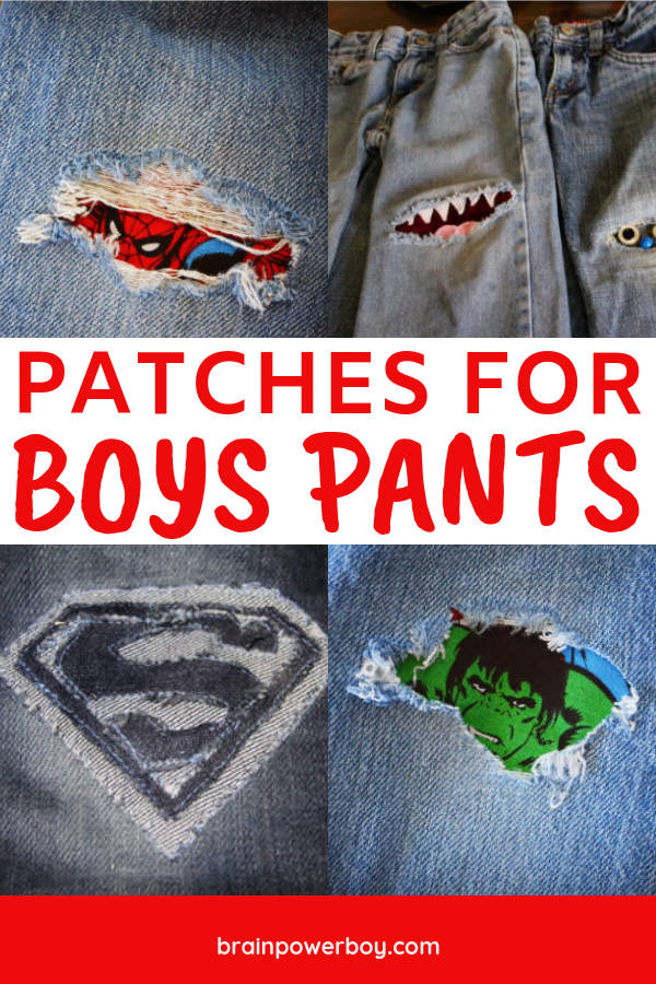 Patches for Boys Jeans – A Fun Way To Fix Holes in Their Pants