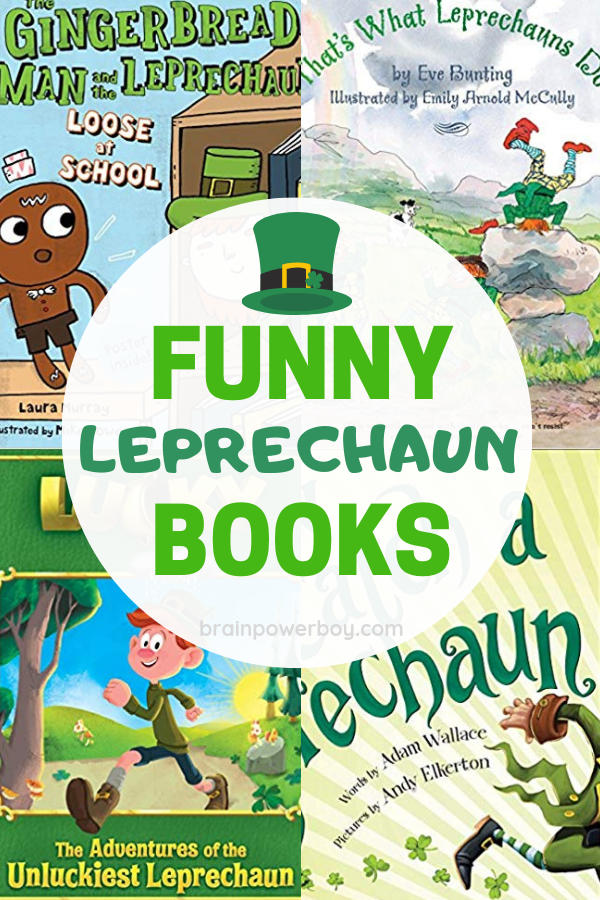 Have some fun for Saint Patrick's Day with these funny leprechaun books for boys. Bring a bit of laughter and silliness to the holiday!