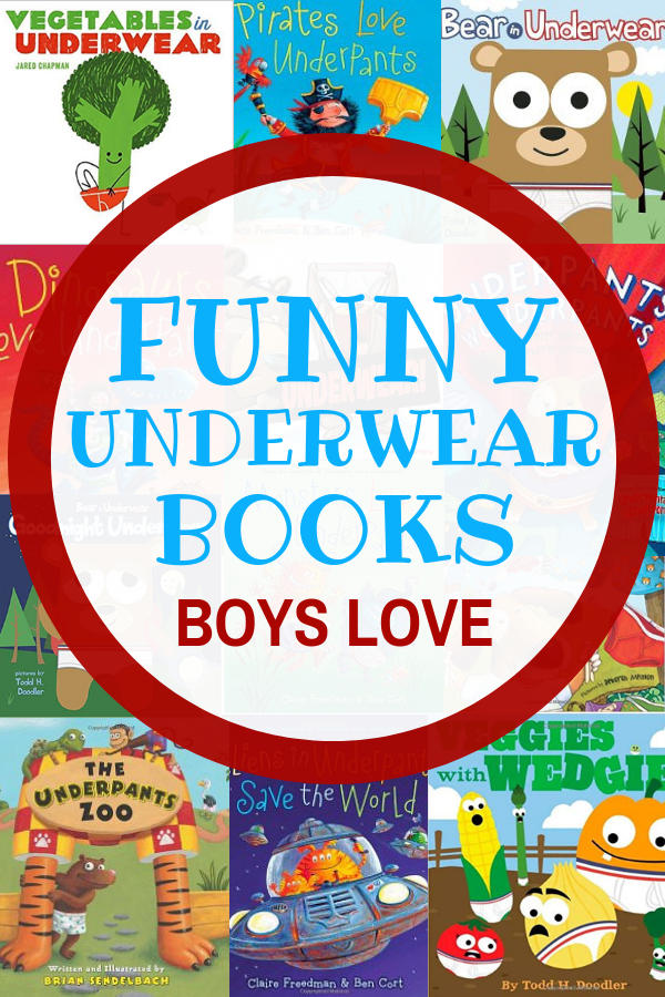 Funny Underwear Books Boy Love!