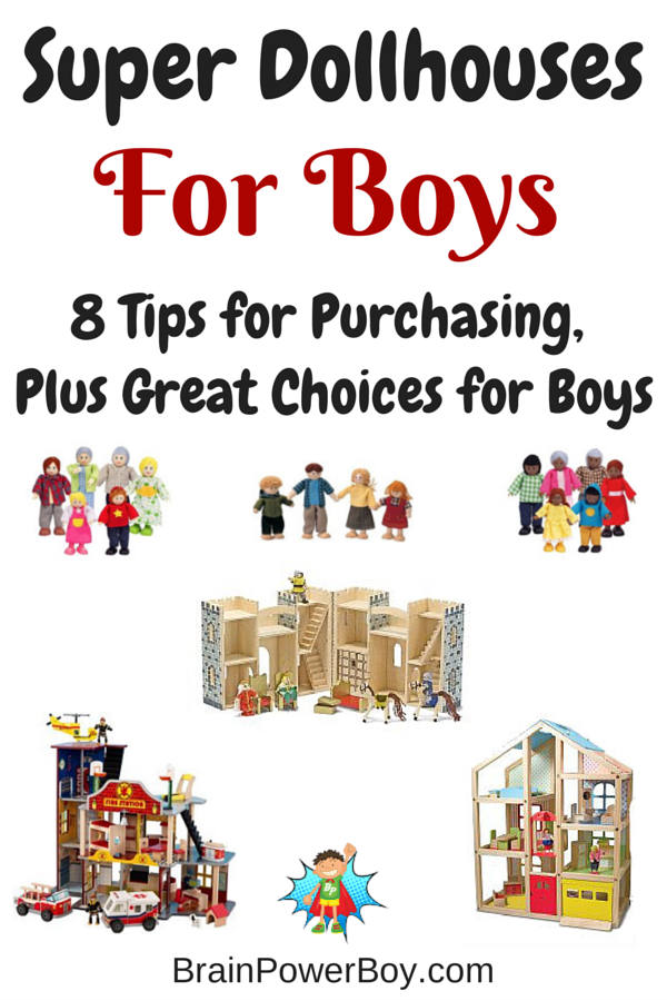 Gift Guide for Boys: Dollhouses