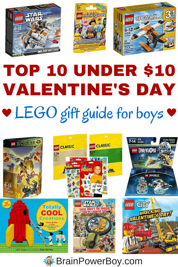 top 10 lego valentine's day gifts for boys under $10.00, Ideas