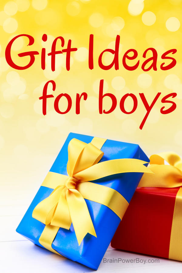 Gift ideas for boys! If you have to purchase a gift for a boy, this is the list you need. So many wonderful gift ideas perfect for your boy.