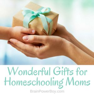 We will help you find the perfect gift for a homeschooling mom. The article is filled with wonderful ideas she will love. They will make her days easier and/or add something special to her day. Show a homeschooling mom how much you care.