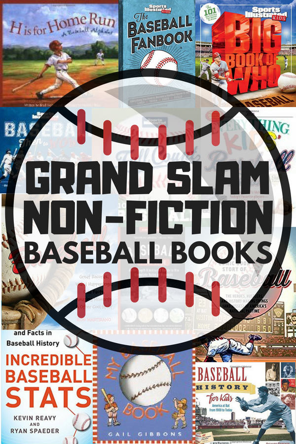 There is nothing quite as exciting as a grand slam, except maybe these non-fiction baseball books! If you have kids who are interested in baseball, you can easily get them reading with these books.