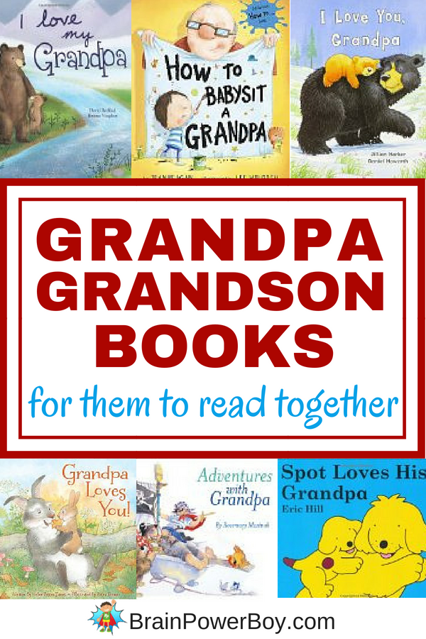the very best grandpa and grandson books ever