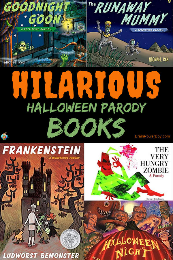 Oh my gosh! These Halloween Parody books are a complete hoot. They are spooky, scary fun at its very best!! Tap or click to see them all.