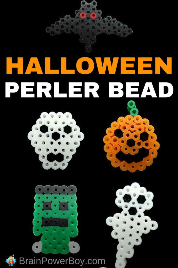 5 Spooktacular Halloween Perler Bead Pattern Ideas