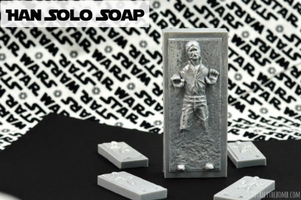 Han Solo in Carbonite Handmade Soap