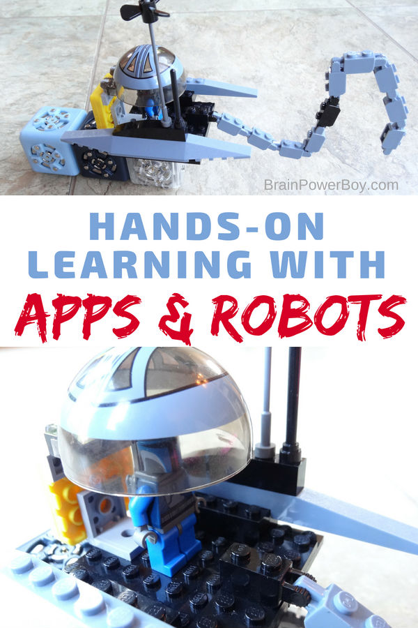 Combining LEGO, robot blocks, Bluetooth, and apps gave us a way to learn that was so engaging and fun! Go check it out!! (with ad Home Science Tools)