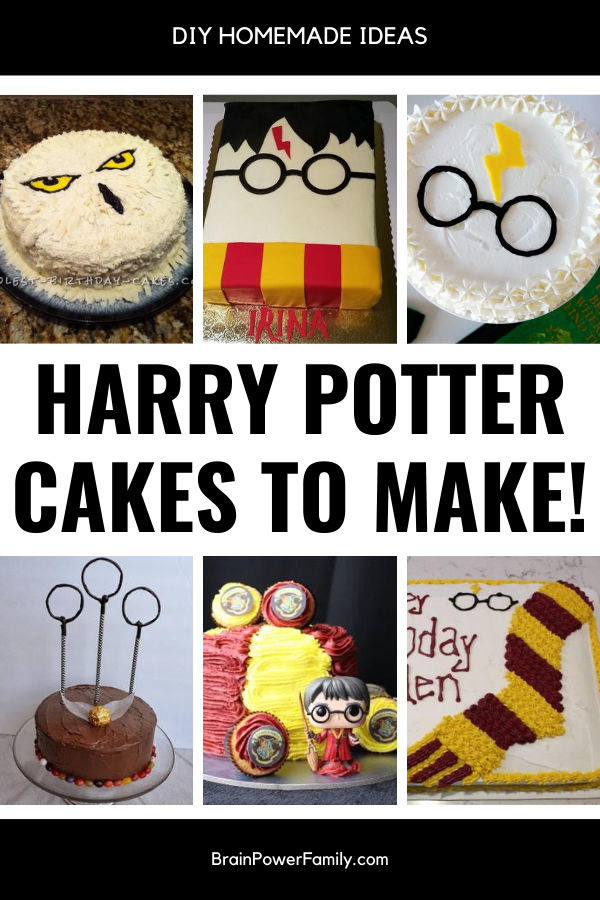 Homemade Harry Potter Cakes to Make