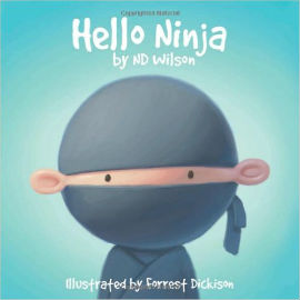 Hello Ninja is a bedtime book with rhyming ninja goodness.
