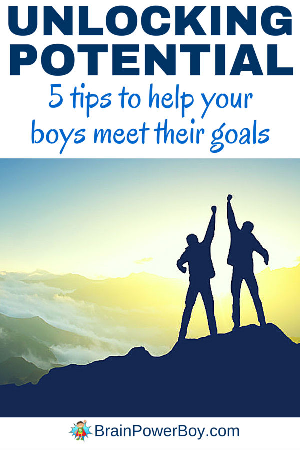 Your boys can use their natural abilities to unlock their potential and make a big difference in their lives. You can use these 5 tips to help boys meet their goals, big or small. Click to read and make a positive change in your boys abilities to get what he wants out of life.