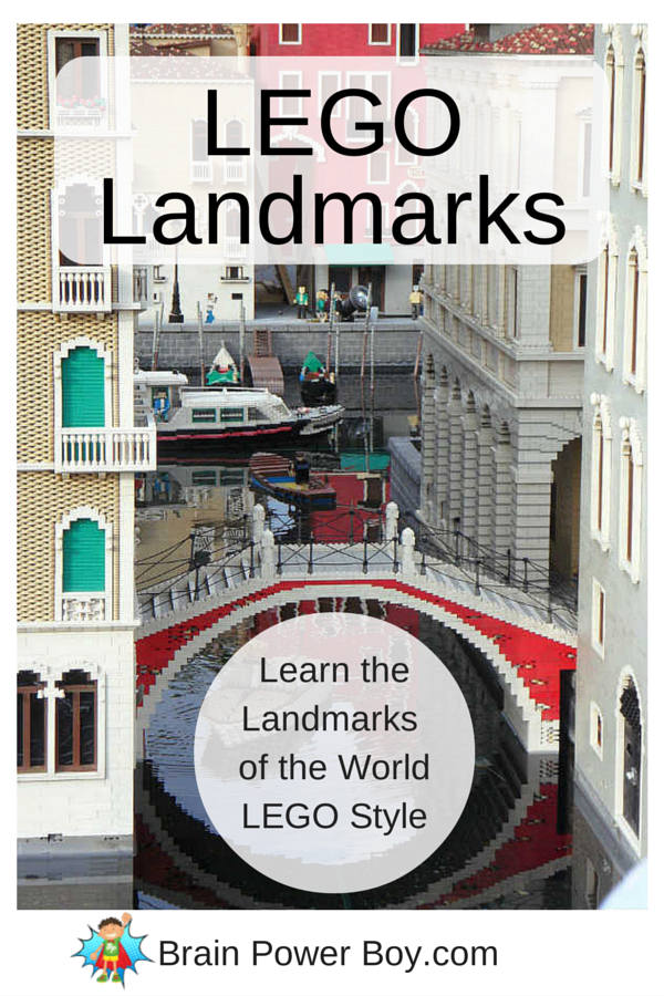 Homeschool Unit Study: LEGO Landmarks