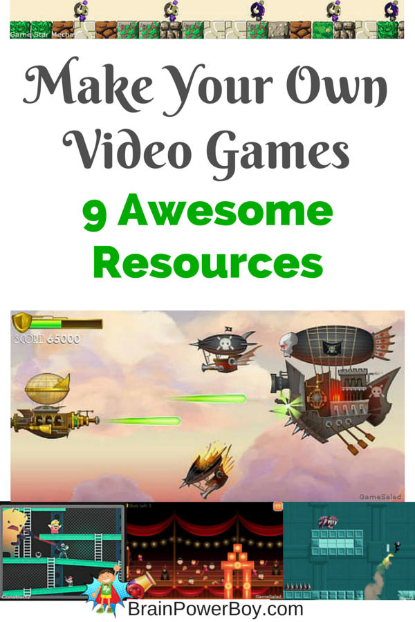 Video games are fun to play. Have even more fun by making your own games. Try this Homeschool Unit Study Video Games for great resources.