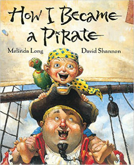 How I Became a Pirate is perfect for little boys who imagine sailing the seas in a pirate ship