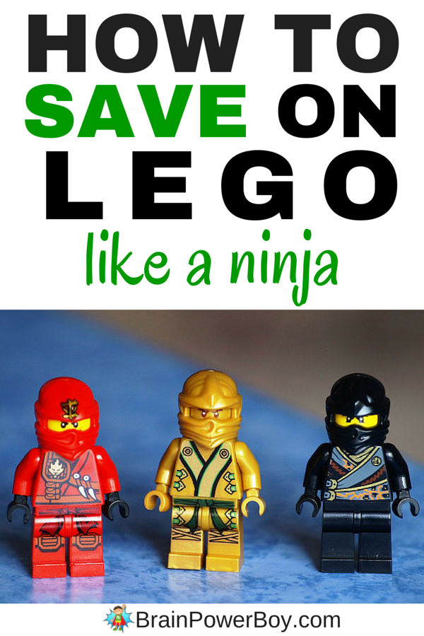 How to Save Money on LEGO<br> Like a Ninja - Tips & Tricks
