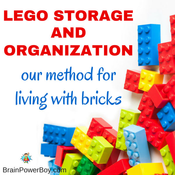 Looking for an easy and effective way to story LEGO bricks and sets? Pictures of what methods we use. Life with LEGO has been so much better ever since we did this.